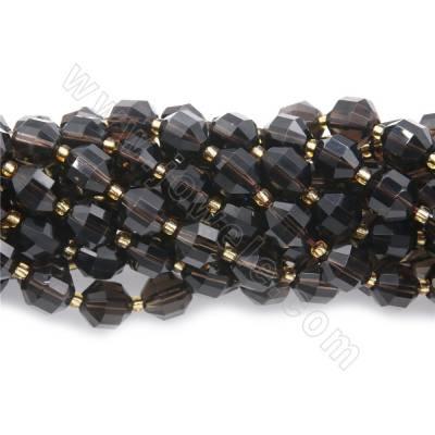 Natural smoky quartz beads...