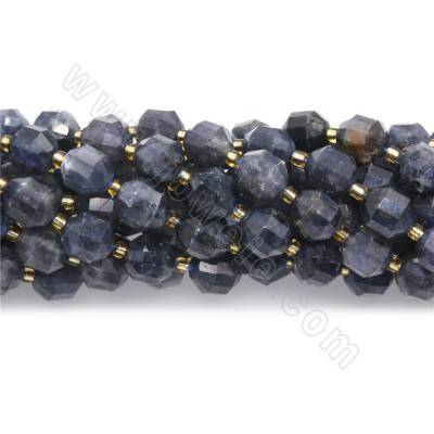 Natural  cordierite beads...