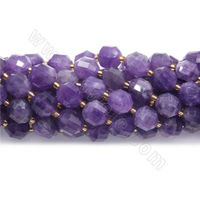 Natural Purple Jade Beads...