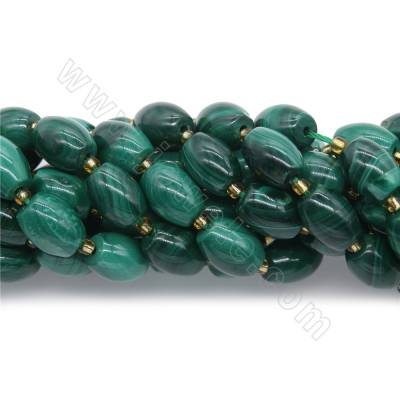 Natural malachite barrel...