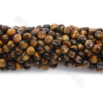 Natural tiger's eye beads...