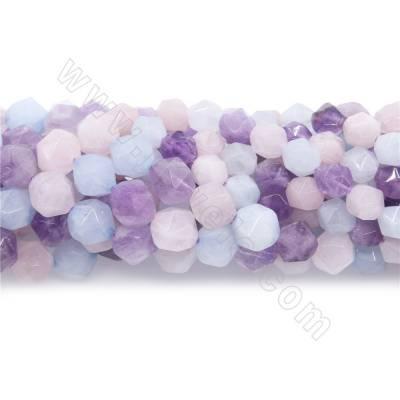 Natural multi-color quartz...