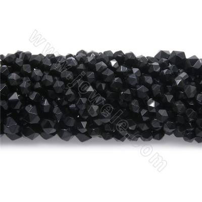 Natural obsidian beads...