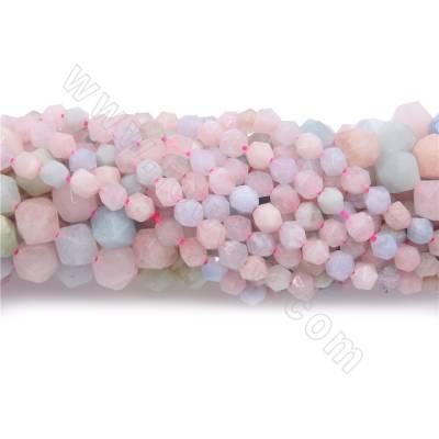 Natural morganite beads...