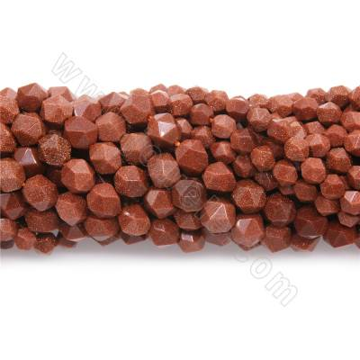 Synthesis goldstone beads...