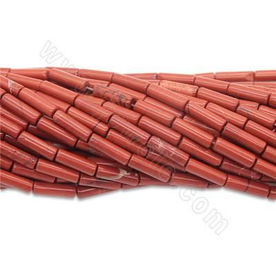 Natural red jasper beads...