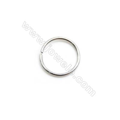 304 Stainless Steel Open Ring  Diameter 10mm  Wire Diameter 0.8mm  4000pcs/pack