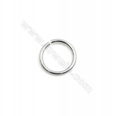 304 Stainless Steel Open Ring  Diameter 8mm  Wire Diameter 0.9mm  4000pcs/pack