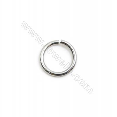 304 Stainless Steel Open Ring  Diameter 8mm  Wire Diameter 1mm  3600pcs/pack