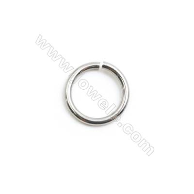 304 Stainless Steel Open Ring  Diameter 10mm  Wire Diameter 1.2mm  2000pcs/pack