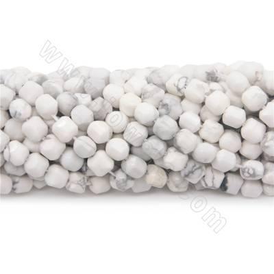 Natural howlite beads...