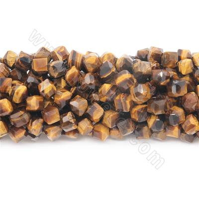 Natural tiger's eye faceted...