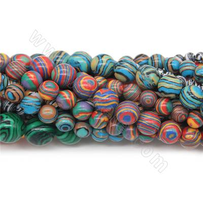 Synthesis malachite beads...