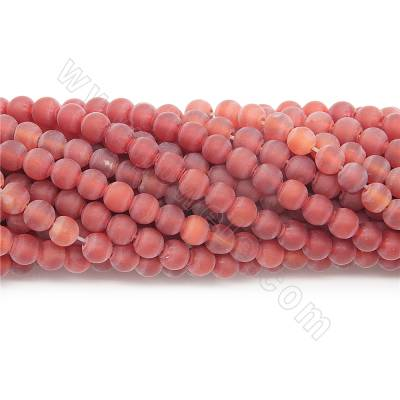 Natural matte red agate...