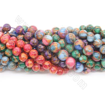 Dyed colorful  jasper beads...