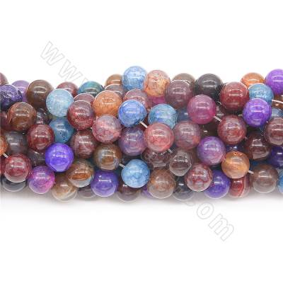 Dyed colorful agate beads...