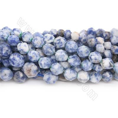 Natural white&blue sodalite...