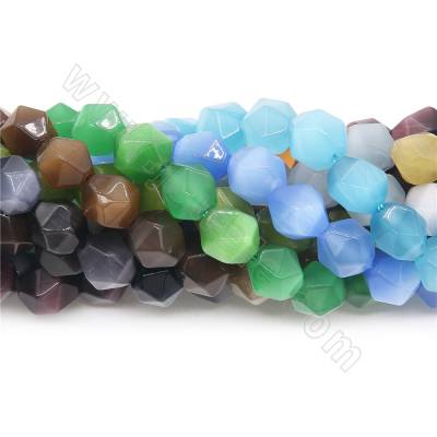 Synthesis cat's eye beads...