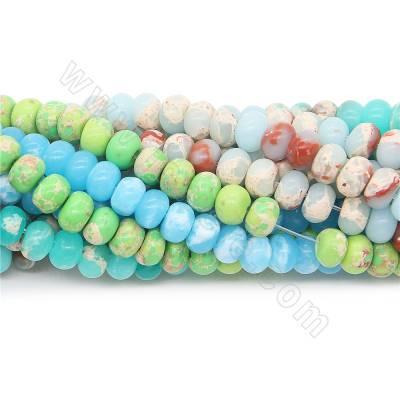 Dyed shoushan jasper beads...