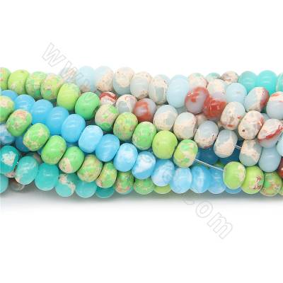 Dyed shoushan jasper beads...