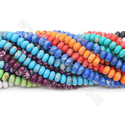 Dyed imperial jasper beads...