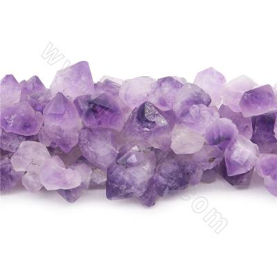 Natural amethyst beads...