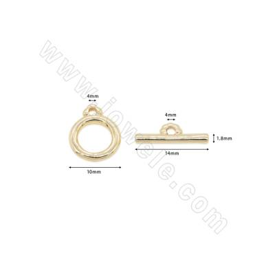 Brass  Toggle Clasps...