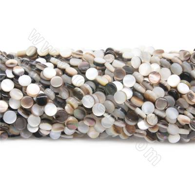 Natural Grey Shell Beads...