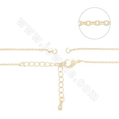 Brass Gold-Plated Chains...