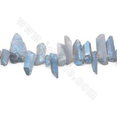 Electroplated Rock Crystal...