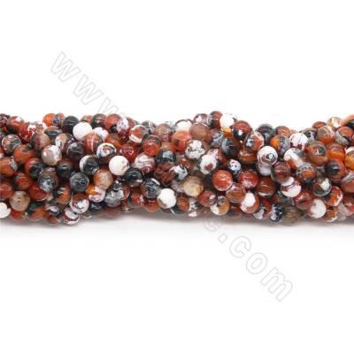 Heated Fire Agate Beads...