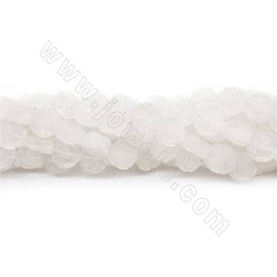 Natural Rock Crystal Beads...