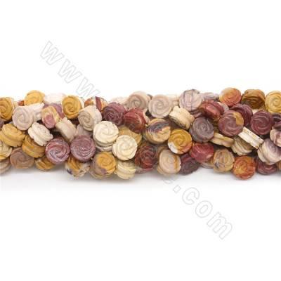 Natural Mookaite Beads...