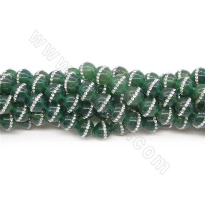 Natural  Green Agate Beads...