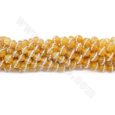 Natural Yellow Agate Beads...