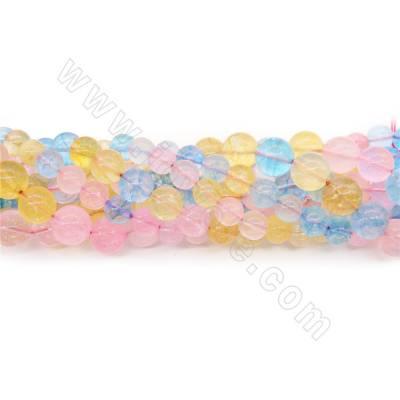Dye Quartz Crystal Beads...