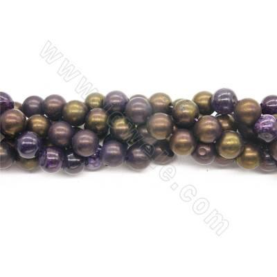Heated Agate Beads Strand...