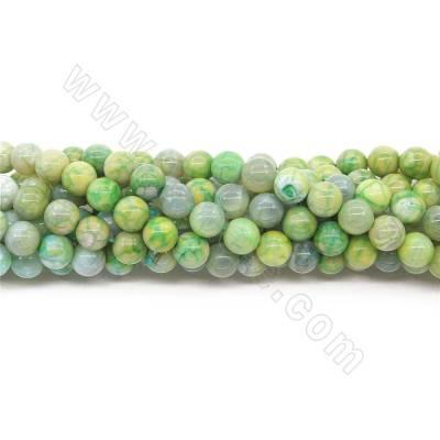 Heated Crackle Agate Beads...