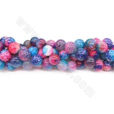 Heated Colorful Agate Beads...