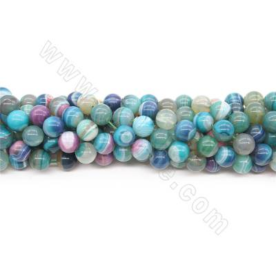 Heated Striped Agate Beads...