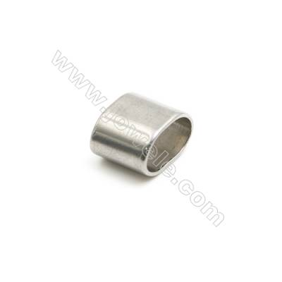 304 Stainless Steel Charms  Rectangle  Size 10x8x6mm  50 pcs/pack
