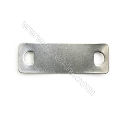 304 Stainless Steel Links, Rectangle, Size 14x41mm, 200 pcs/pack