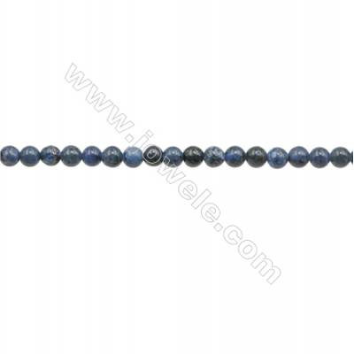 """6mm African Blue Stone Loose Beads  Round  hole 0.7mm  about 133 beads/strand  15~16"""""""