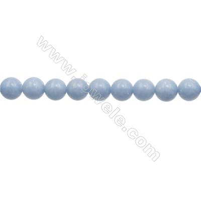 """12mm Natural Angelite Loose Beads Strand  Round  hole 1mm  about 33 beads/strand  15~16"""""""