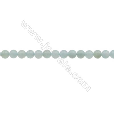 3mm Natural Amazonite Beads Strand  Round  hole 0.7mm  about 130 beads/strand  15~16""