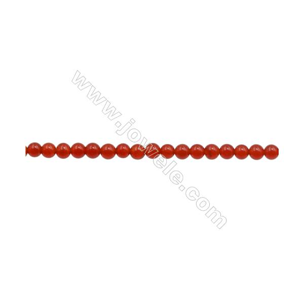 one pair red coral flat 13-16mm  hook earrings wholesale beads nature