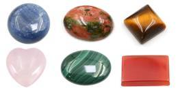 Cabochons in Gemstones