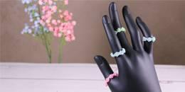 Handmade Seed Beads Ring