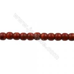 Sponge Coral Beads Strand, Barrel, 12x14mm, Hole 1mm, about 32 beads/strand, 15-16""