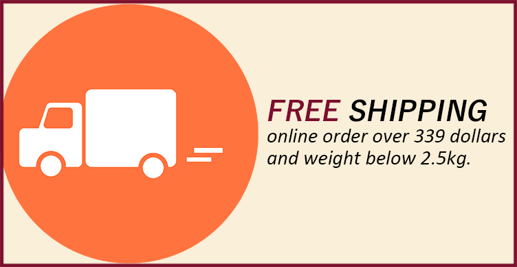 Free shipping in large quantities